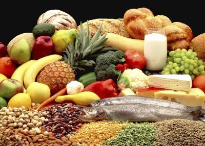 fresh fruits vegetables and grains cleanse